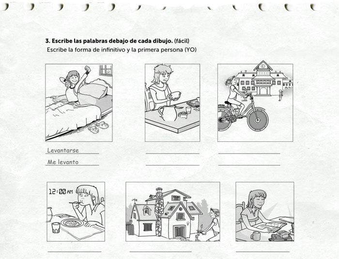 Daily Routines Worksheet on Worksheet For Primary 1