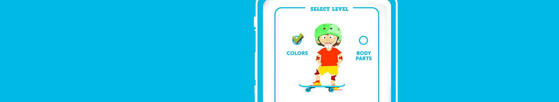 New Spanish game to learn vocabulary about colors, numbers, clothes, body parts and much more