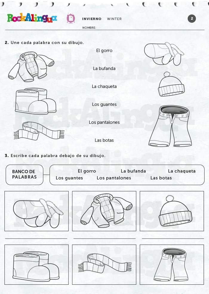 Spanish Teaching Resources To Use This Winter Rockalingua