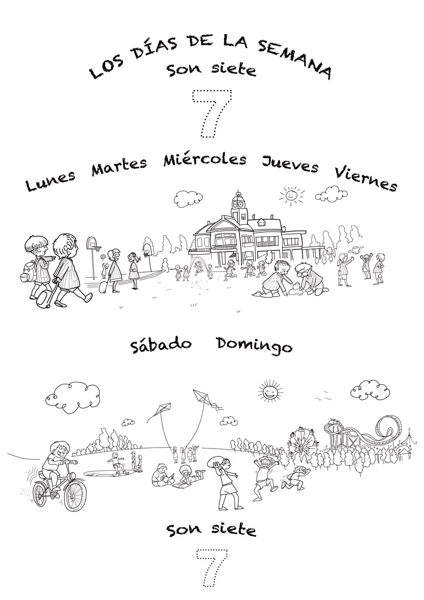 Worksheets Days Of The Week In Spanish Worksheet spanish language song about days of the week for kids rockalingua song