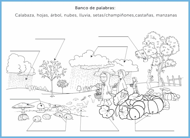 Rockalingua has a variety of fall activities in Spanish to print and use in class.