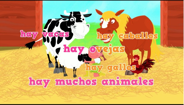 This video is one of many excellent farm animal activities in Spanish from Rockalingua.