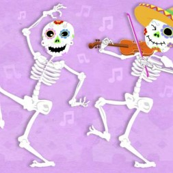 Día de los Muertos song and video in Spanish for kids