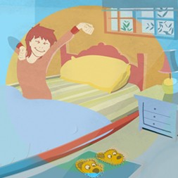 Spanish daily routines video for kids