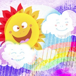 Weather song in Spanish for kids and children