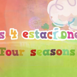 Seasons in Spanish video for kids