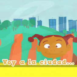 Video about the city in Spanish for kids