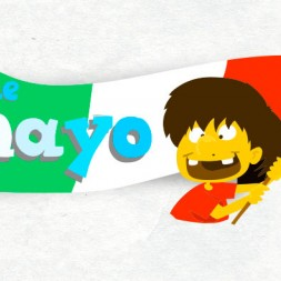 5 de Mayo worksheet for kids in Spanish