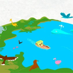 Short Spanish story about the Earth to teach Spanish to children
