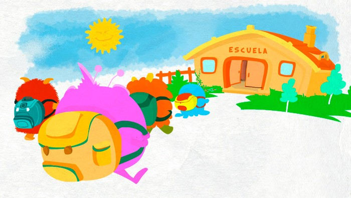 Spanish Short story for kids with high frequency structures