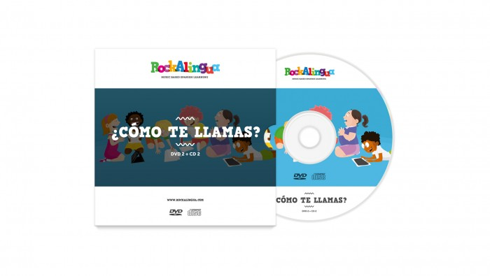 Rockalingua CD2 +DVD2 Spanish songs and videos for kids