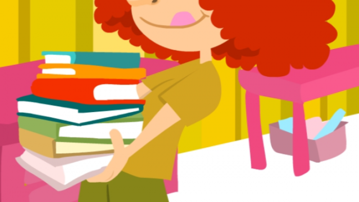 Spanish short story for kids about daily routines