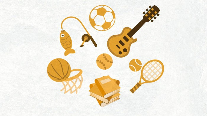 Spanish picture dictionary to teach hobbies in Spanish